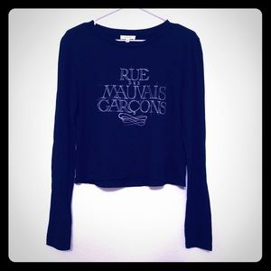 Sunday Best Aritzia Long Sleeve Graphic T Shirt